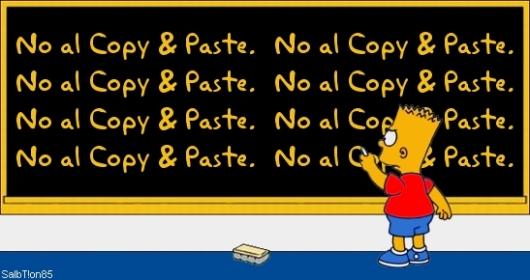 No Copy-Paste, No Copy-Paste, No Copy-Paste