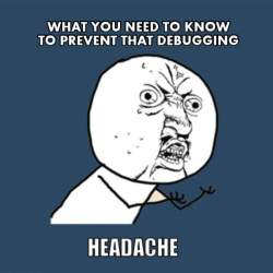 prevent-debugging-headache